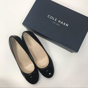 Cole Haan Elsie Wedge Black Size 10 New in Box